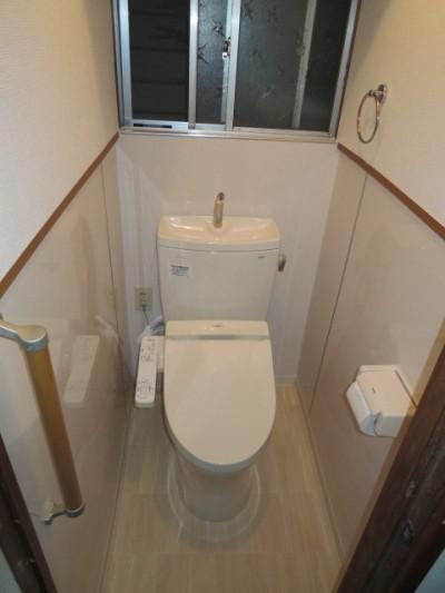 After:アルファリフォーム リフォーム事例 トイレその他改修